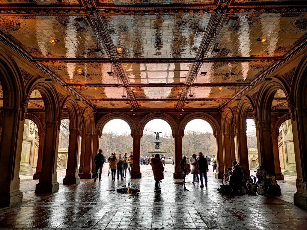 Bethesda Terrace e Bethesda Fountain - Central Park, New York