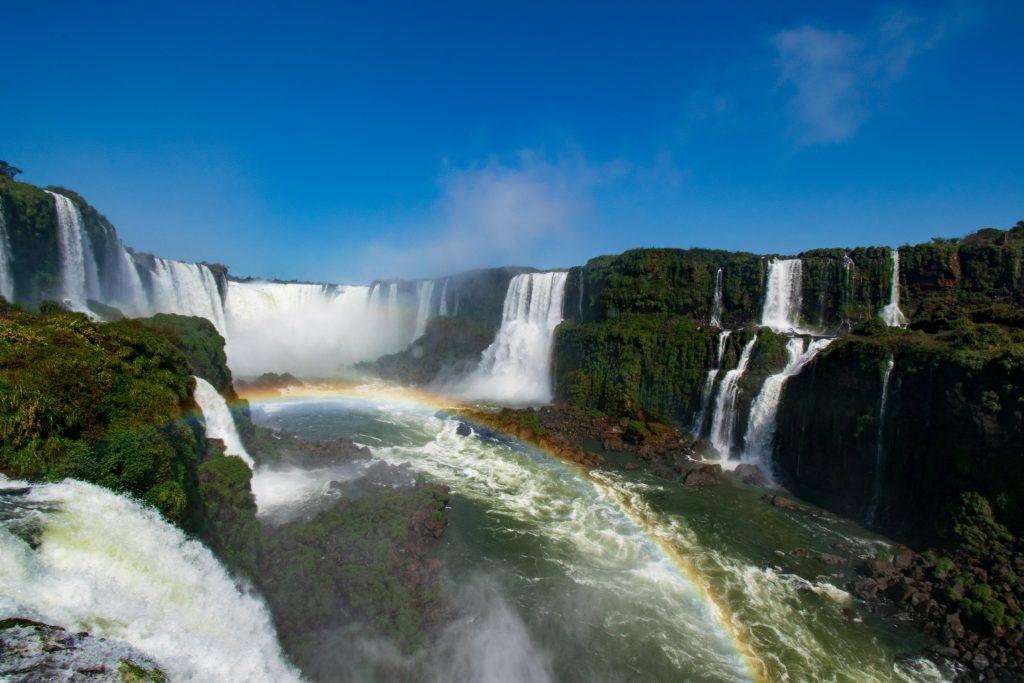 Cascate di Iguazu lato brasiliano