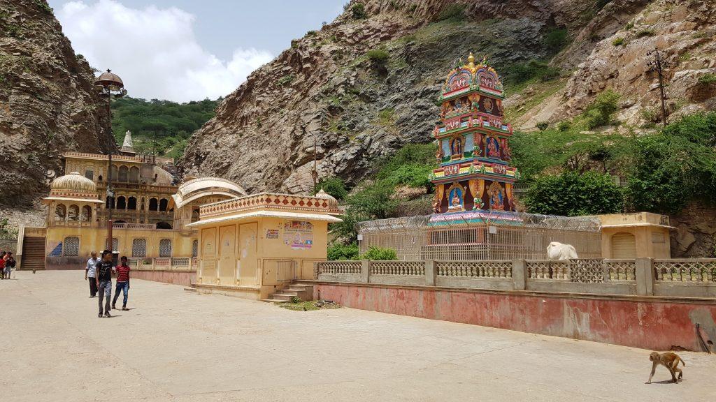 Galta Ji, il tempio delle scimmie, Jaipur